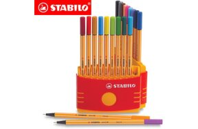 MARKERS STABILO POINT 88 SET 20 COLOURS